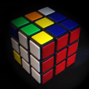 Reglas y trucos para resolver el cubo de Rubik I