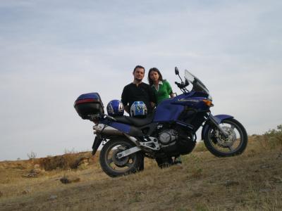 Honda Varadero vs. Miguel y Laura
