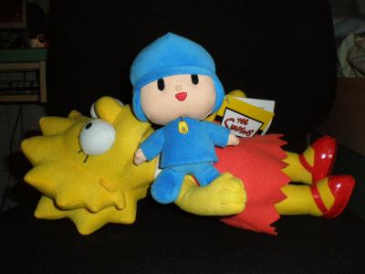Pocoyo vs Lisa