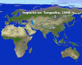 100 años de la explosión en Tunguska